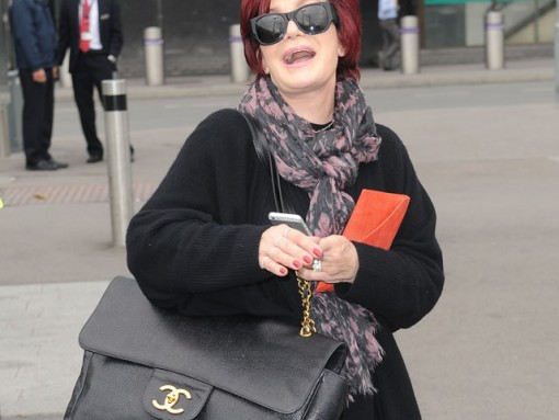 Sharon Osbourne Carries One of the Most Enormous Chanel Flap Bags We've Ever Seen