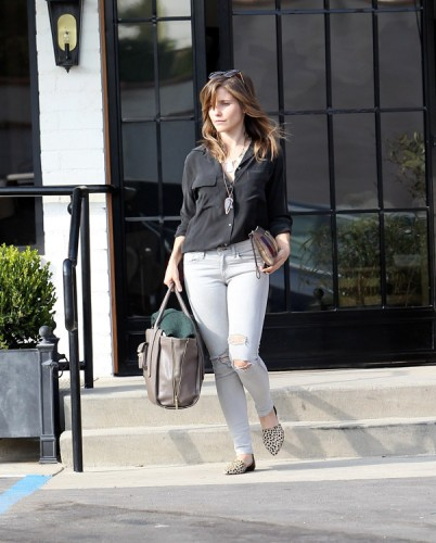 Sophia Bush carries bags from 3.1 Phillip Lim for Target and Lanvin (3)