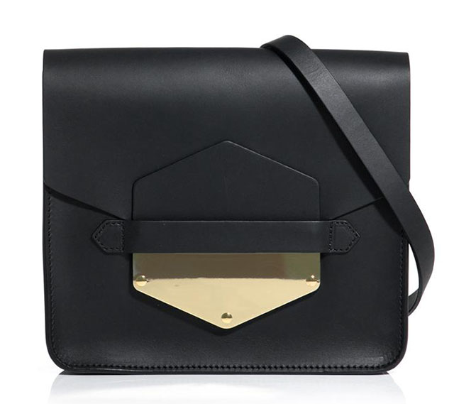 Sophie Hulme Arrow Tab Bag