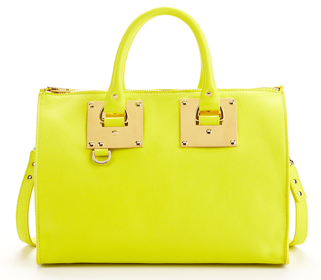 Sophie Hulme Mini Zip Bowling Bag
