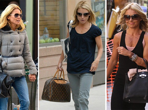 The Many Bags of Kelly Ripa