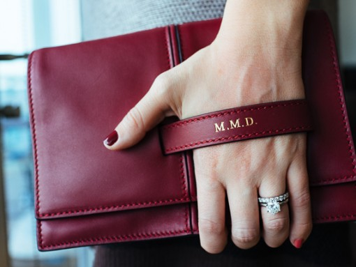 Get Personal with the Valentino MOC Clutch