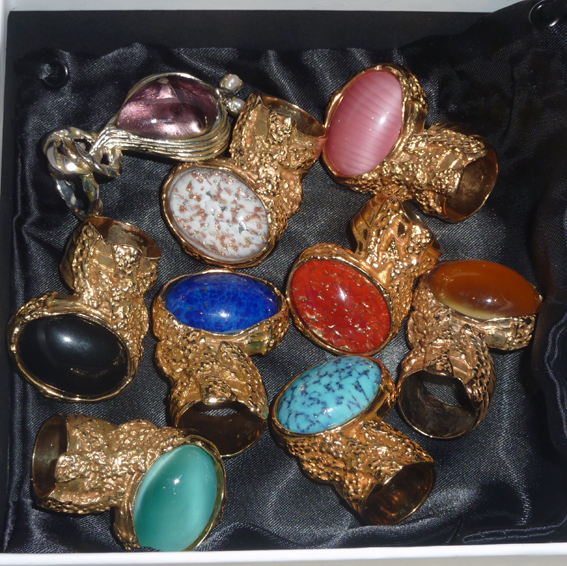 Yves Saint Laurent Arty Rings