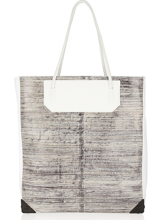 Alexander Wang Prisma Leather and Hagfish Tote