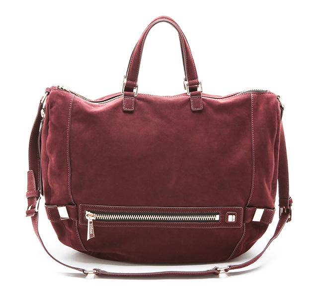 Botkier Honore Suede Hobo Bag