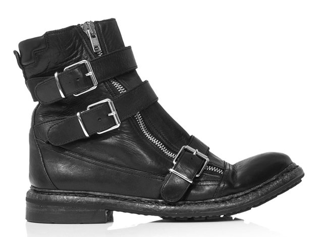 Burberry Hertford Motorcycle Boots