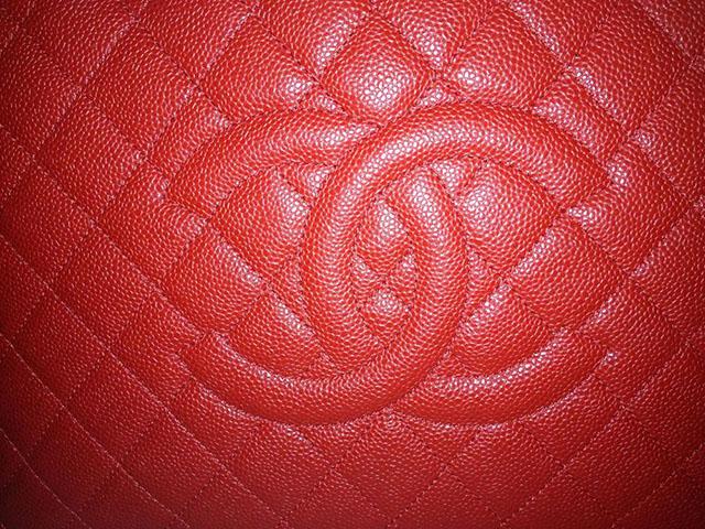 Chanel Caviar Logo