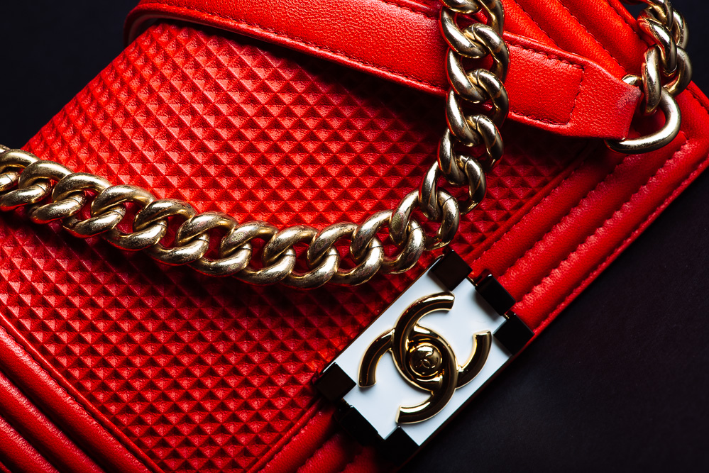 Chanel Boy Bag in Lambskin/Metal