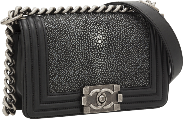 Chanel Stingray Boy Bag