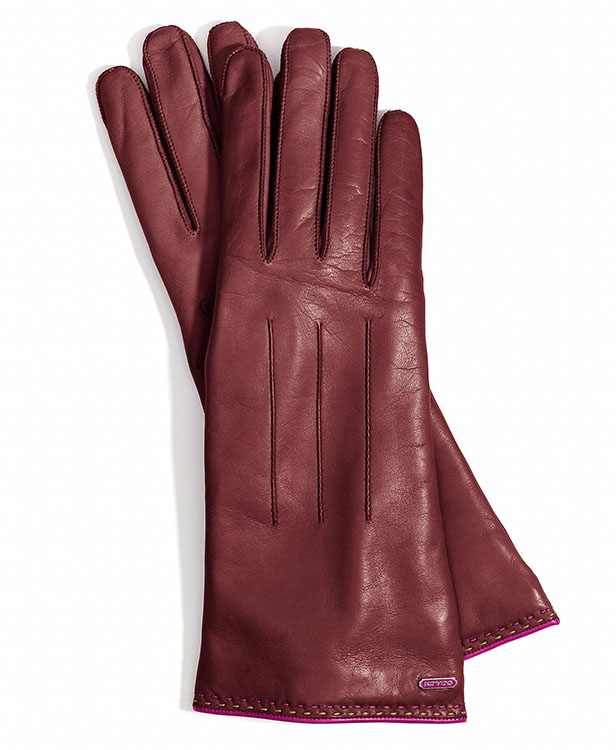Coach Basic Leather Gloves