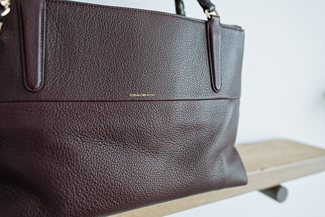 3e6e4aed6ee This bag is a different direction for the brand, but celebrities and  longtime Coach lovers alike have let the Coach Borough onto their arms and  into their ...