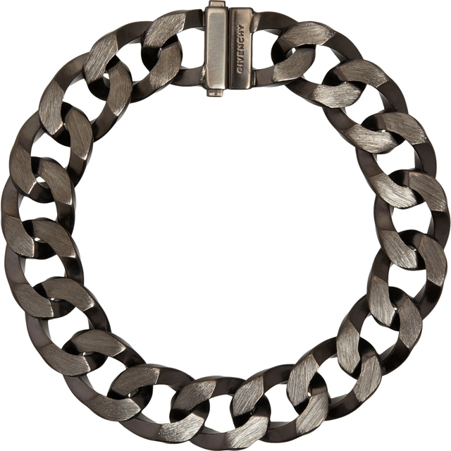 Givenchy Ruthenium Brushed Large Chain