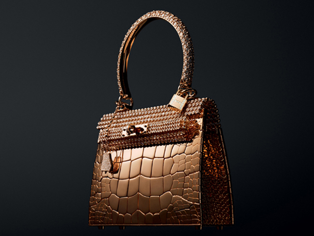 Hermes Rose Gold Kelly Bag