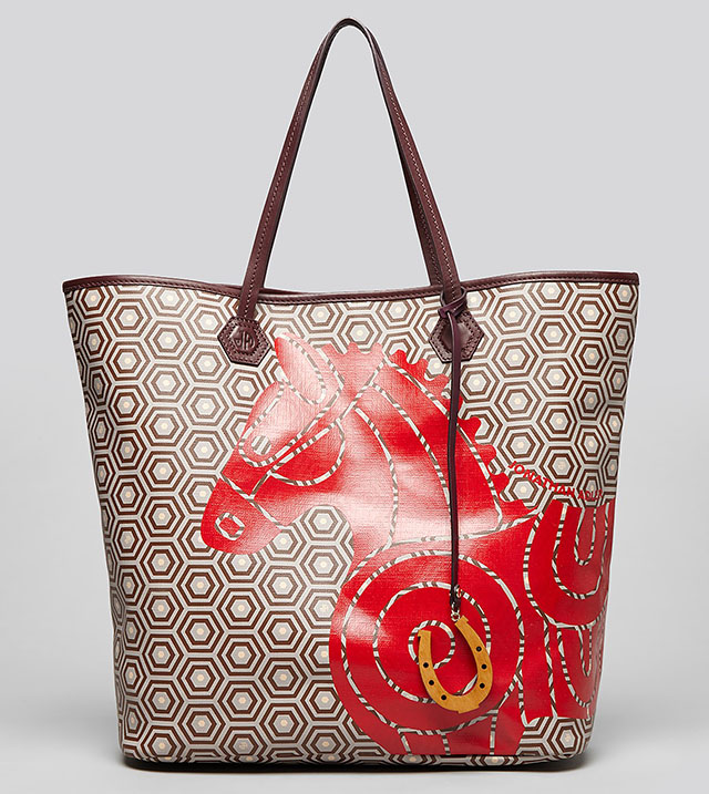Jonathan Adler Icon Duchess North South Horse Tote