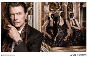 Go Behind the Scenes on David Bowie's Extravagant Louis Vuitton Campaign Shoot