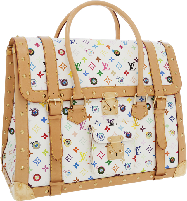 Louis Vuitton Murakami Eye Dare You Overnight Bag Multicolore