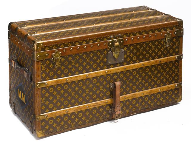 Louis Vuitton Vintage 1920s Trunk