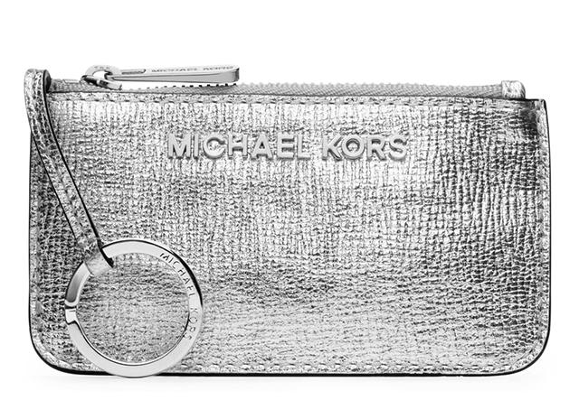 MICHAEL Michael Kors Jet Set Metallic Travel Key Pouch