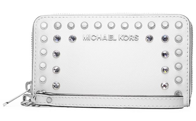 MICHAEL Michael Kors Large Jet Set Jeweled Saffiano Multifunction Case