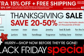 Black Friday 2013: Shop Tons of Different Deals and up to 50% off at Macy's!