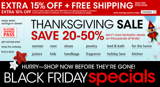 Macys Black Friday 2013