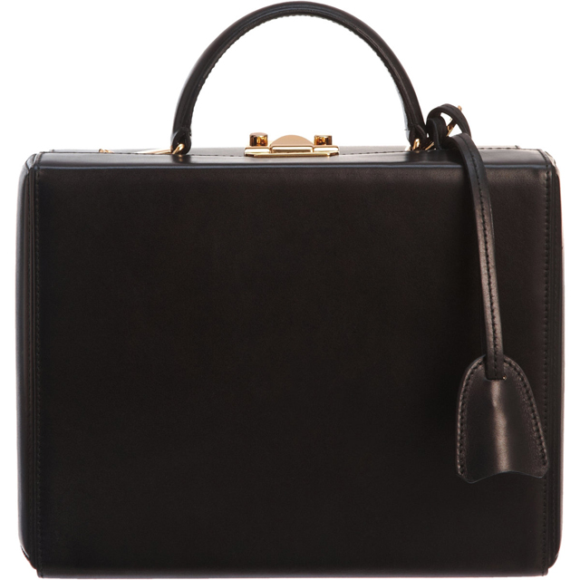 Mark Cross Grace Large Trunk Bag