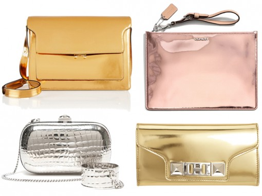 12 Bags to Get You Into the Emerging Mirrored Leather Trend