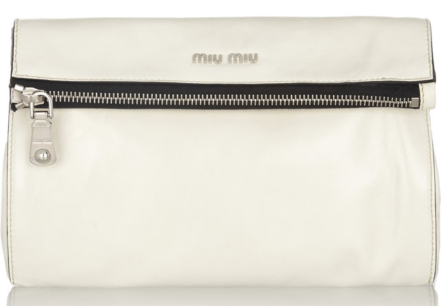 Miu Miu Folded Top Clutch