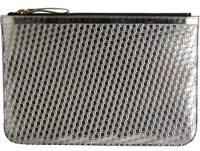Pierre Hardy Large Metallic Cube Pouch