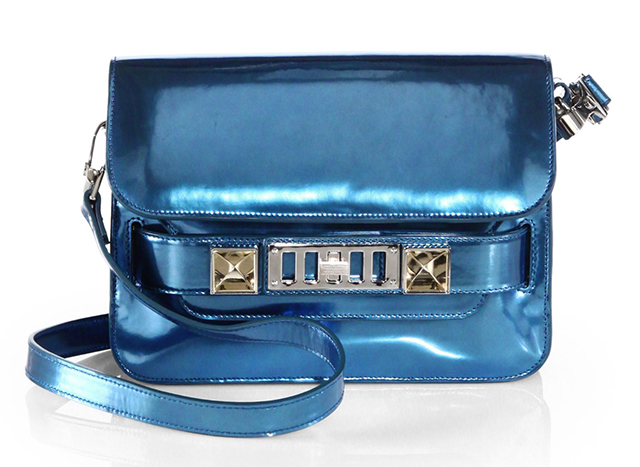 Proenza Schouler Metallic Leather Mini PS11 Bag