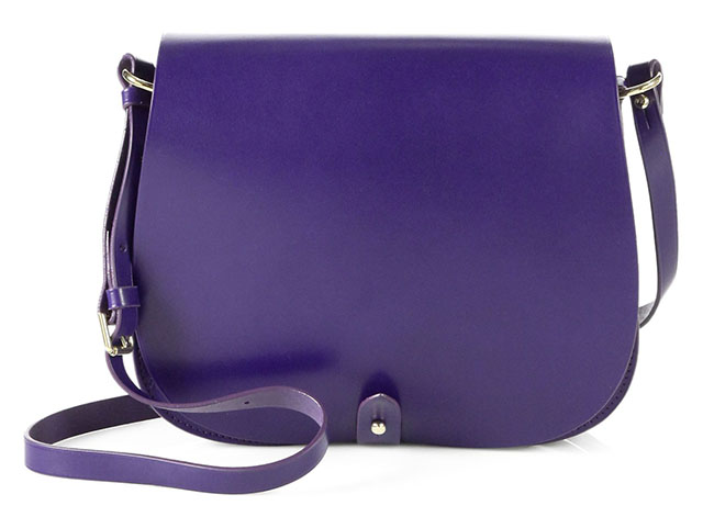 Ralph Lauren Collection Saddle Flap Shoulder Bag