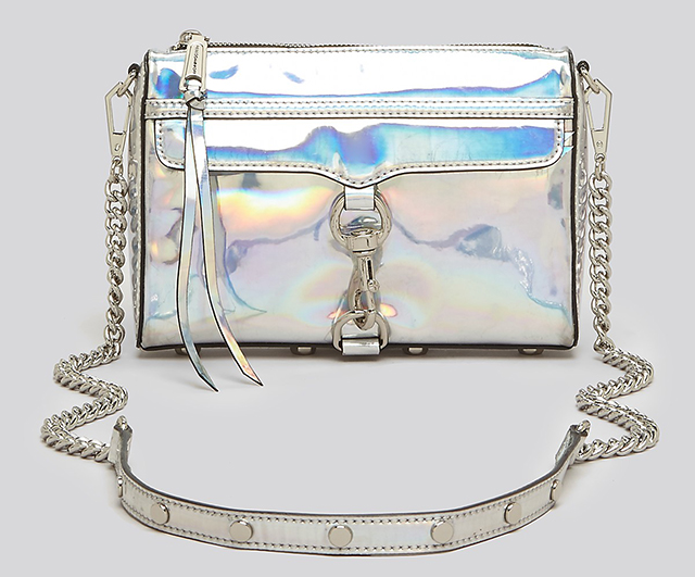 Rebecca Minkoff Holographic Mini MAC Crossbody