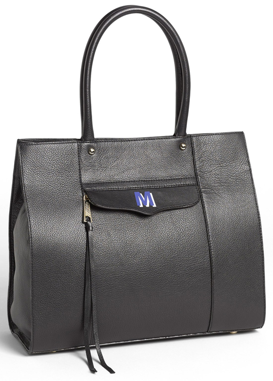 Rebecca Minkoff MAB Monogram Medium Leather Tote