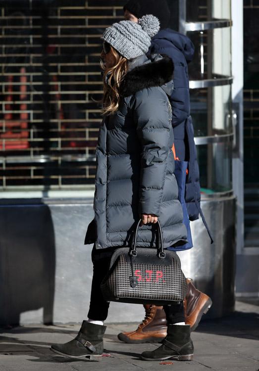 Sarah Jessica Parker Fendi Selleria Adele SJP Bag-1