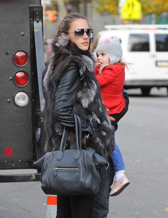 celine bags for sale - The Many Bags of Alessandra Ambrosio - PurseBlog