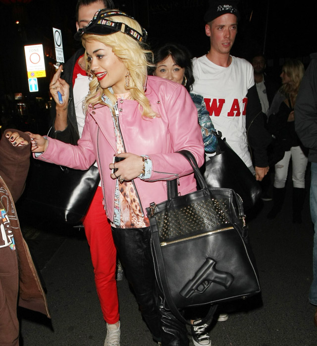 The Many Bags of Rita Ora-4