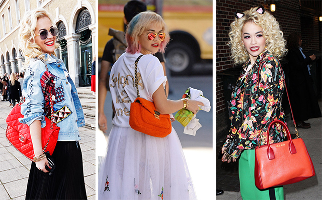 The Many Bags of Rita Ora