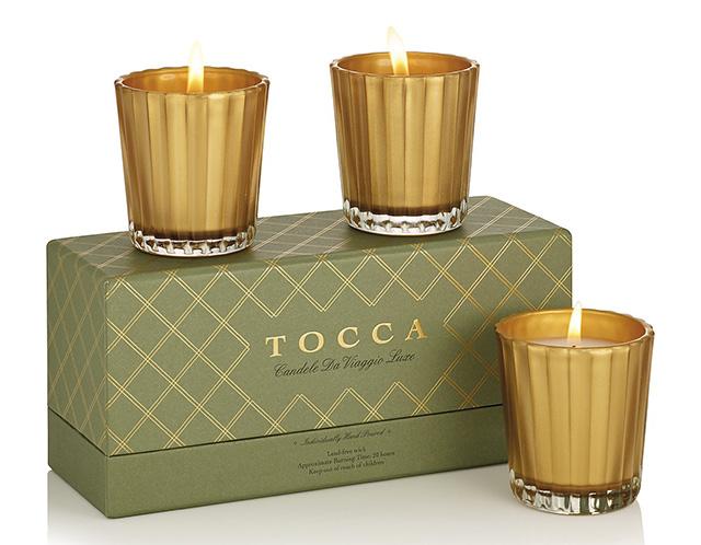 Tocca Viaggio Luxury Candle Trio