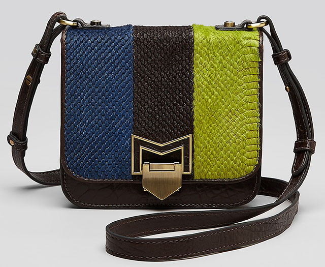 Treesje Stripe Coast Crossbody Satchel