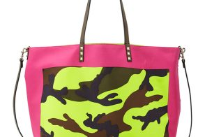 Love It or Leave It: Valentino Rockstud Camo Foulard Tote