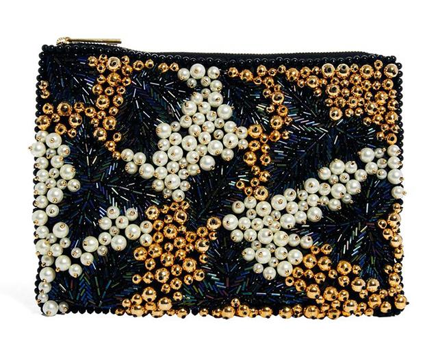 ASOS Embellished Pearl Clutch