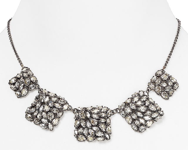 Alexis Bittar Small Linked Bib Necklace