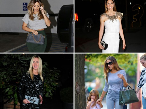 The 10 Best Celebrity Bag Moments of Fall 2013