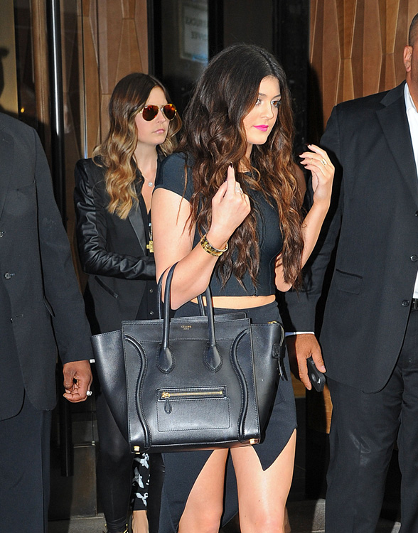 Celebs and Celine Luggage Totes 13