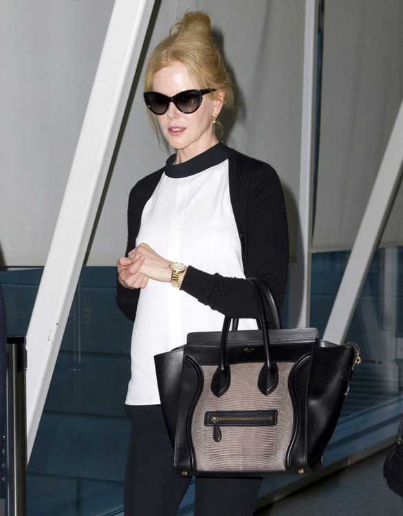 Celebs and Celine Luggage Totes 15