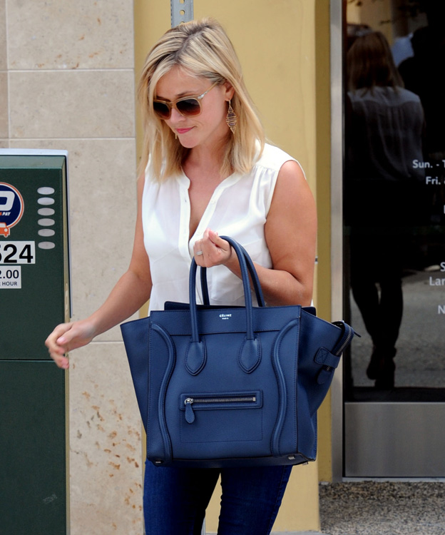 Celebs and Celine Luggage Totes 21
