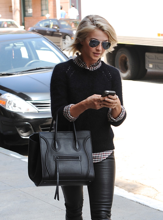 Celebs and Celine Luggage Totes 24