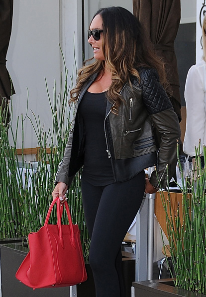 Celebs and Celine Luggage Totes 33