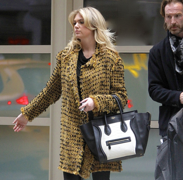 Celebs and Celine Luggage Totes 5