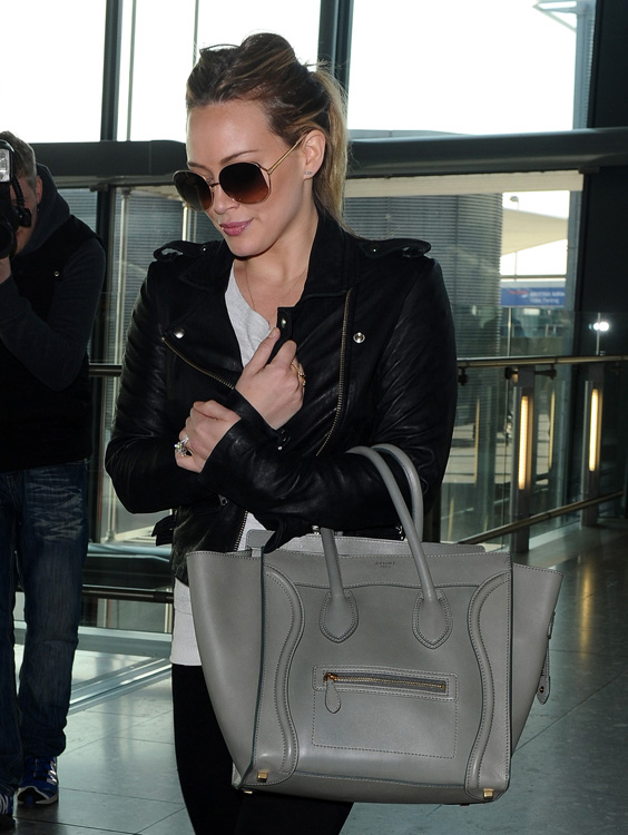 Celebs and Celine Luggage Totes 6
